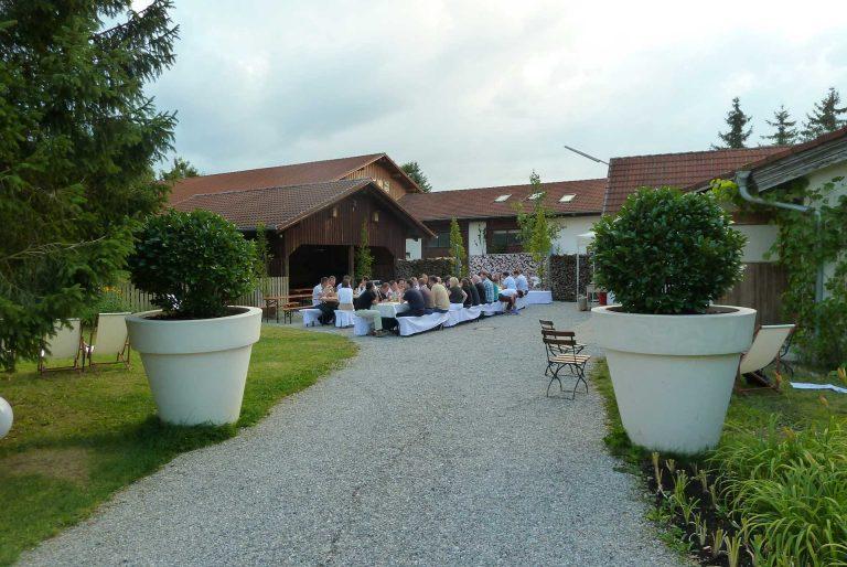 Innenhof-Start